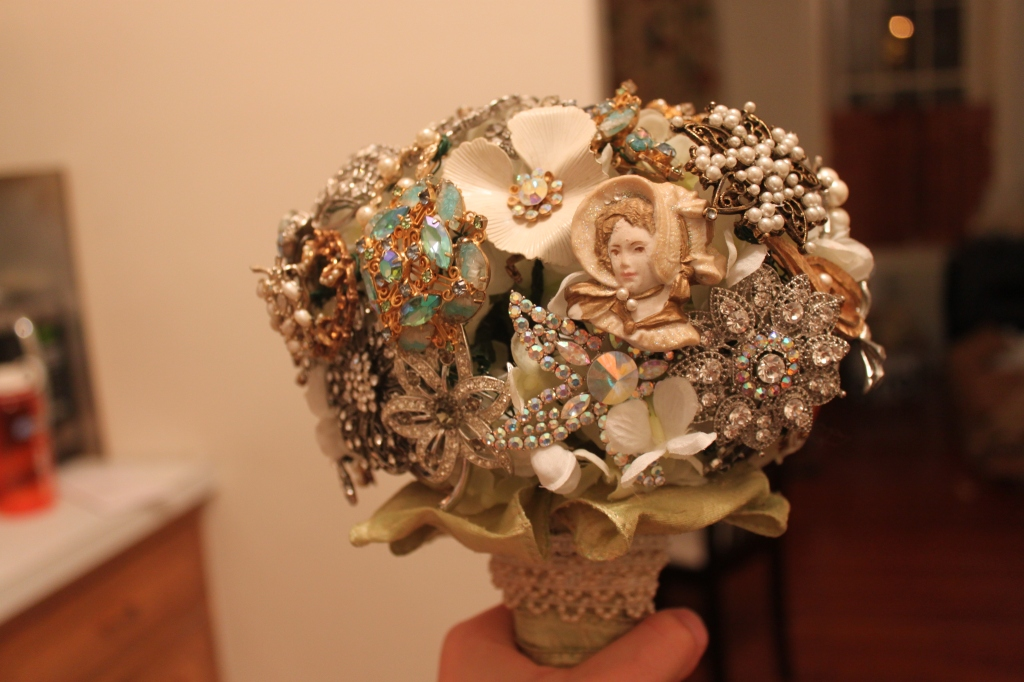 Make Home Your Own Bouquet of Brooches