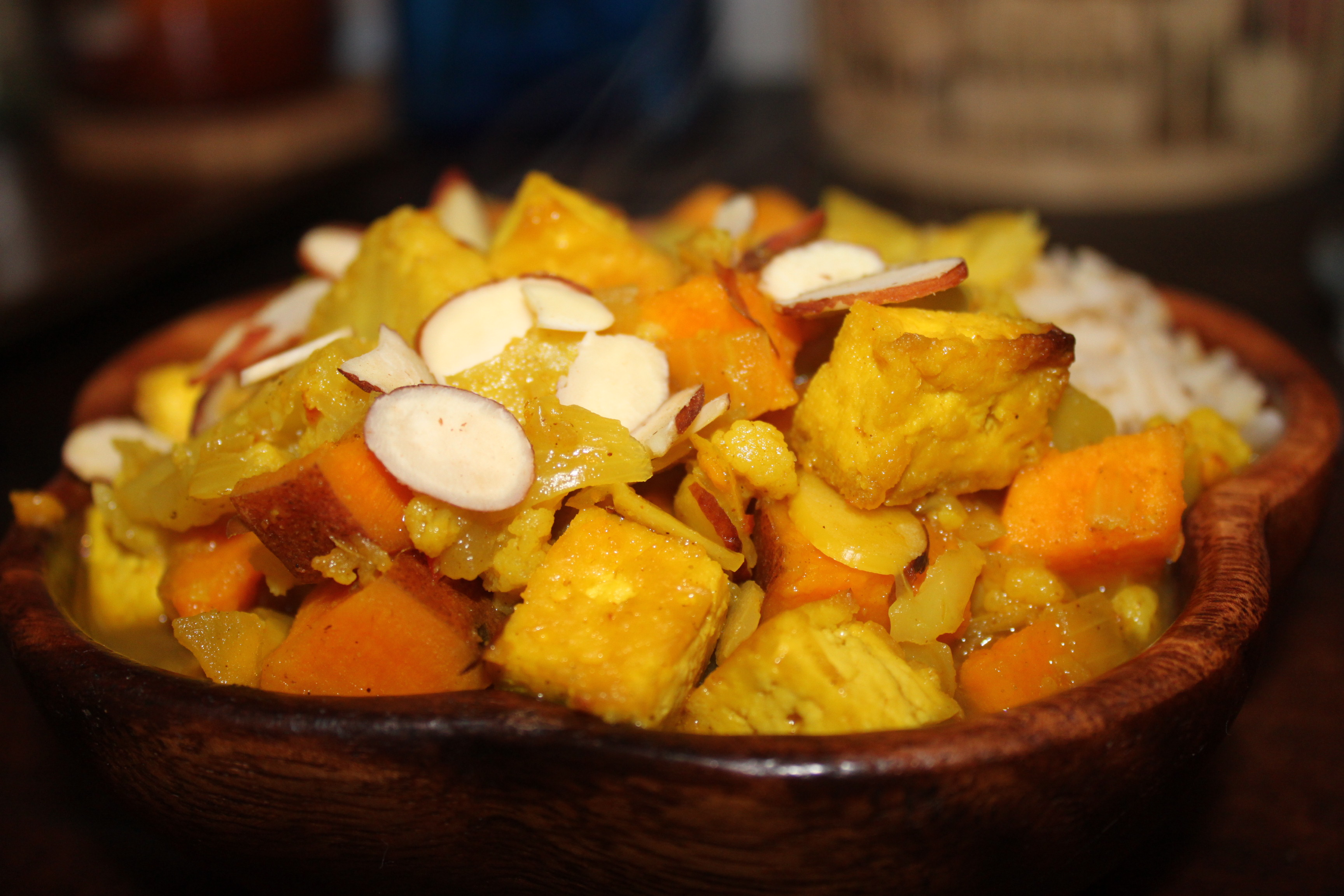 Winter Vegetable & Tofu Korma Recipes — Dishmaps