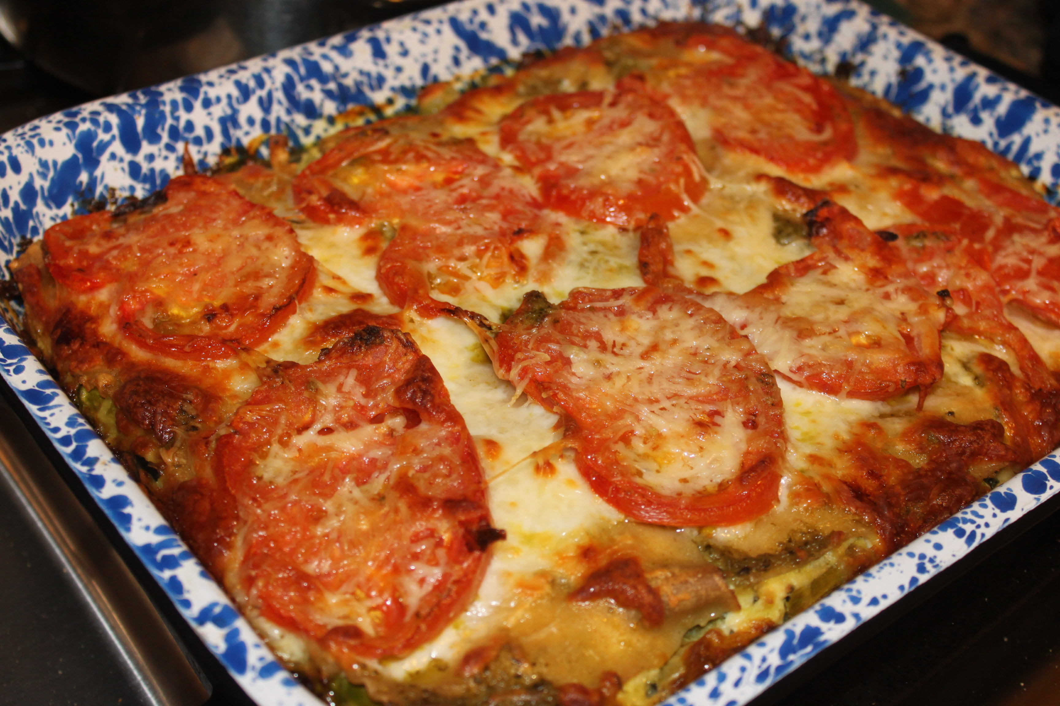 Spring Vegetable Lasagna with Goat Cheese and Pesto - Notes From a ...