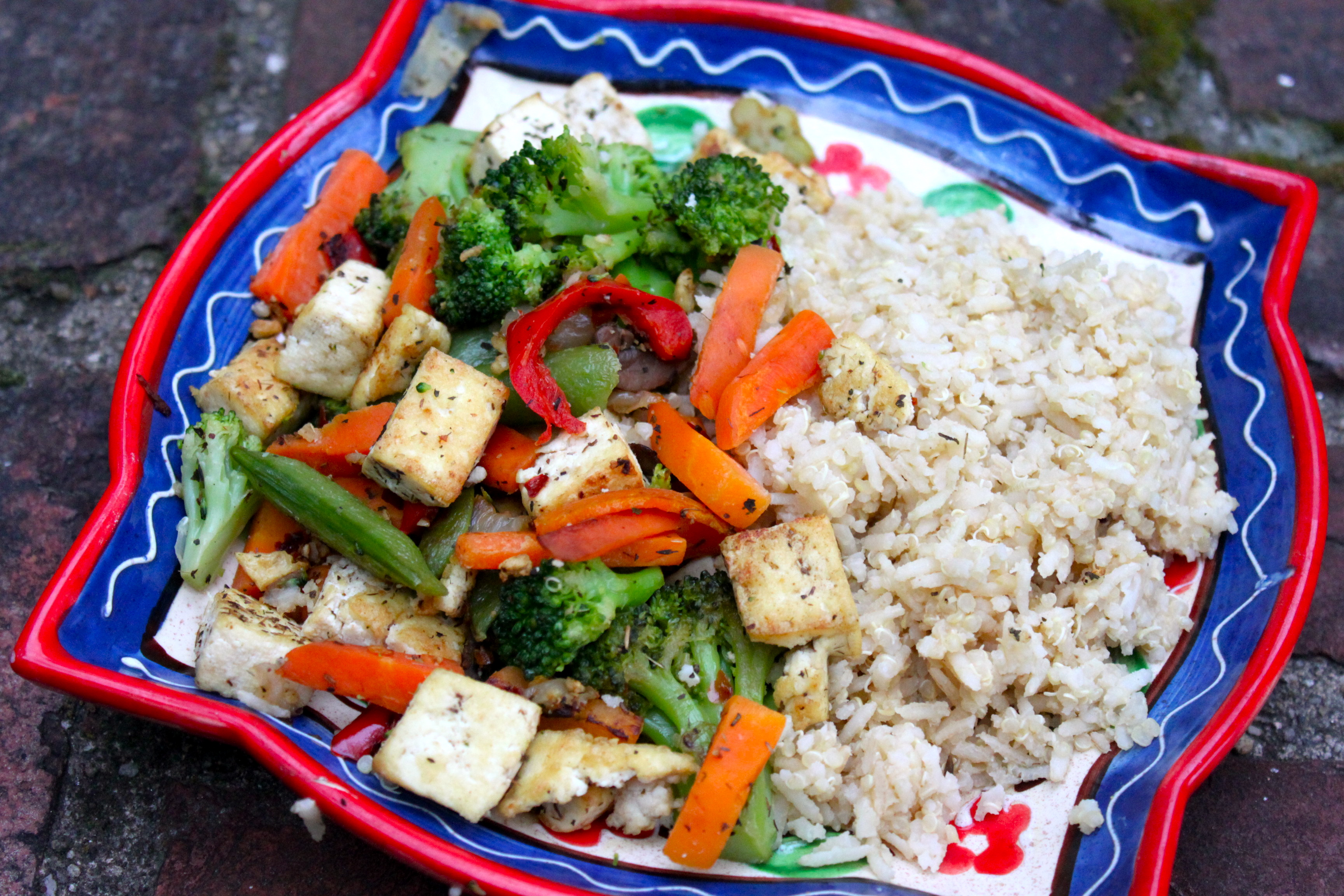 ve Finally Tackled Tofu! {A Simple Trick and an Easy Vegan Stir-fry ...