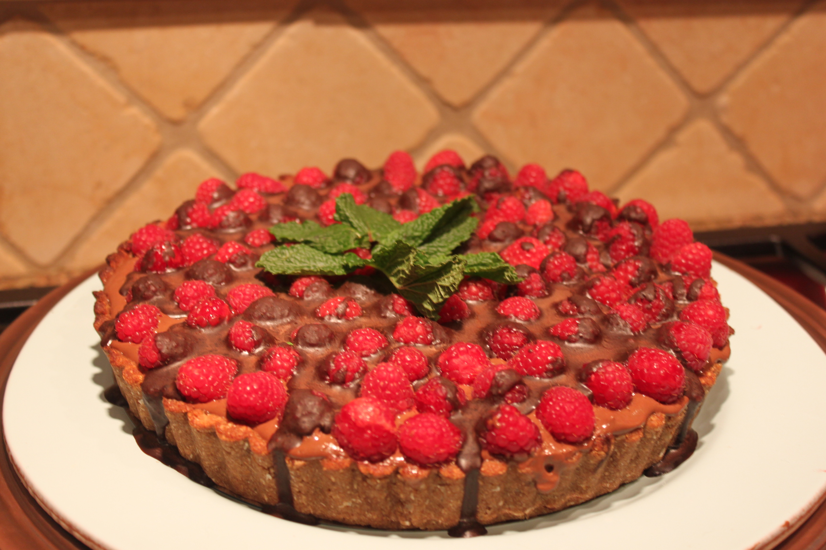 Raspberry Chocolate Pie that Will Change Your Views on Healthy ...