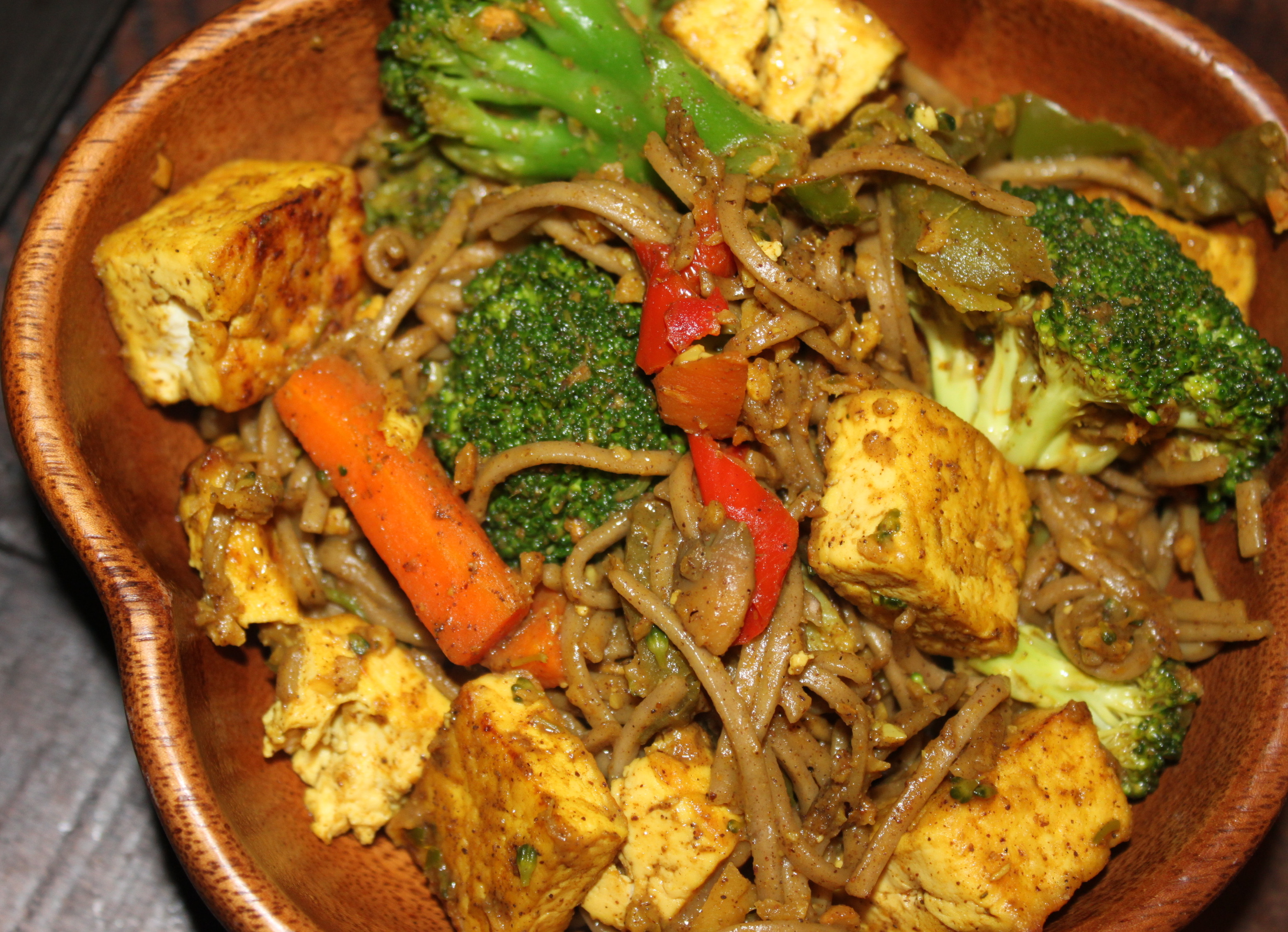 Calling All Spicy Vegans: Thai Coconut-Curry Soba Noodles with Tofu ...